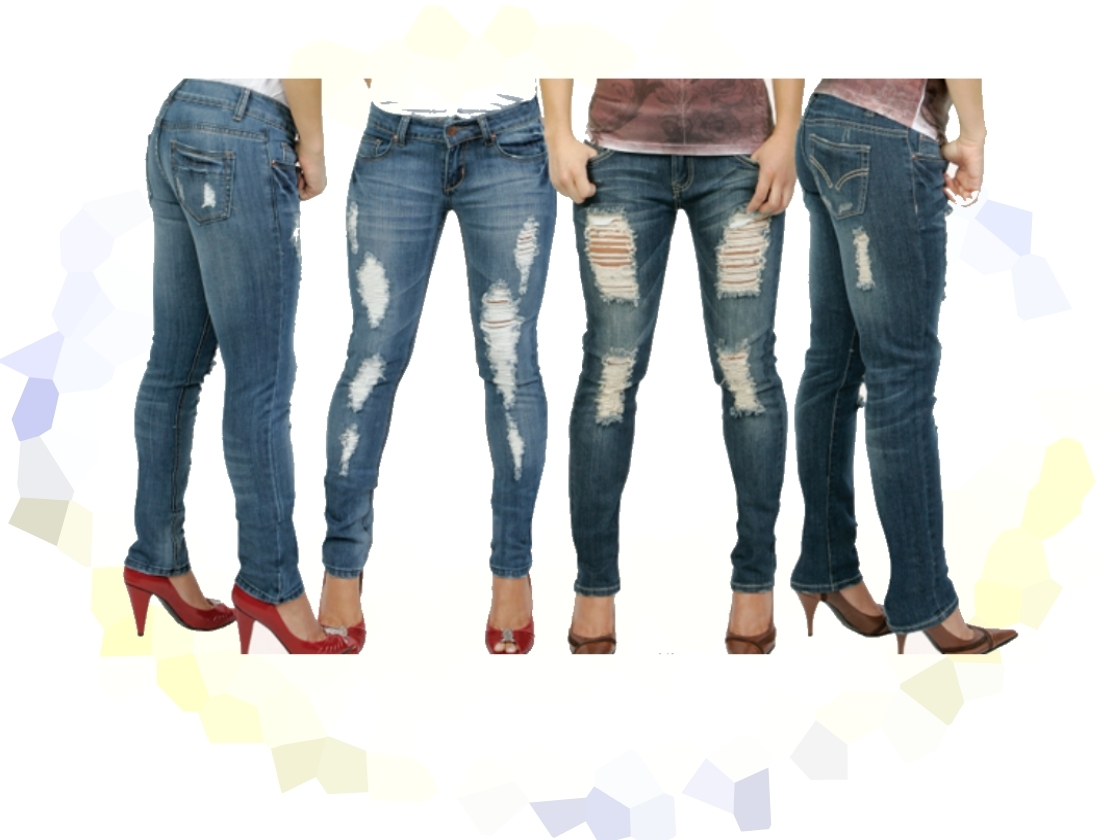 womens-straight-leg-denim-jeans-torn